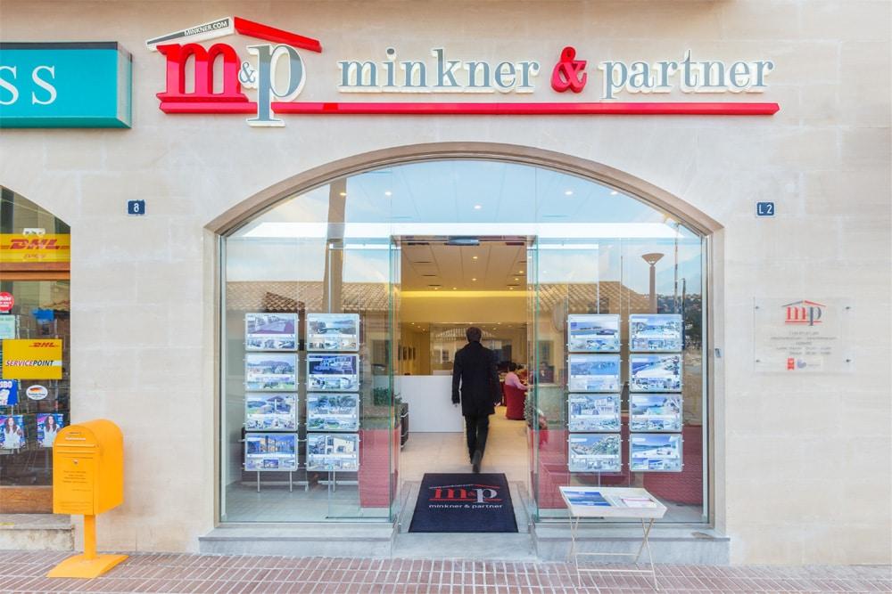 Das Minkner & Partner Beratungszentrum, wenn es um eine Immobilie in Port Andratx geht.
