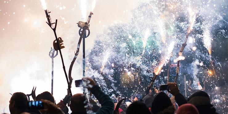 Mallorca: das Fest des Heiligen Antonius 16. und 17. Januar 2017