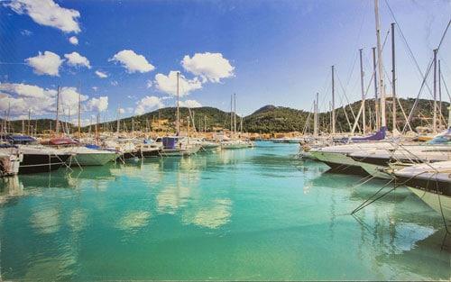 Einer der schönsten Natürhäfen Mallorcas