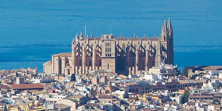 """Die sieben Wahrzeichen von Palma de Mallorca (1/7): """"Die Kathedrale – LA SEU"""""""