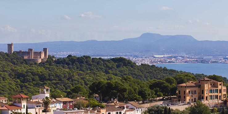 """Die sieben Wahrzeichen von Palma de Mallorca (4/7): """"Castell de Bellver"""""""