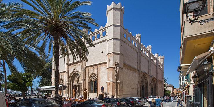 """Die sieben Wahrzeichen von Palma de Mallorca (6/7): """"La Lonja"""""""