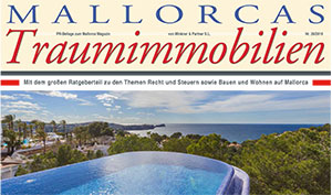 Die traditionelle Immobilien Mallorca Hauszeitung von M&P mit großem Ratgeberteil