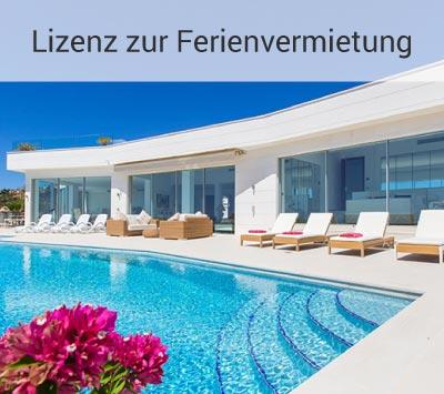 Immobilien Mallorca mit Lizenz zur Ferienvermietung
