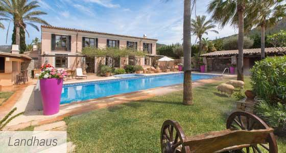 Immobilien Mallorca - Fincas und Landhäuser