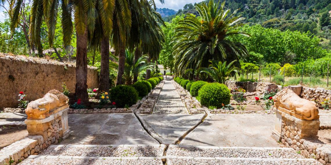 Jardines de Alfabia – die Gärten von Alfabia bei Bunyola