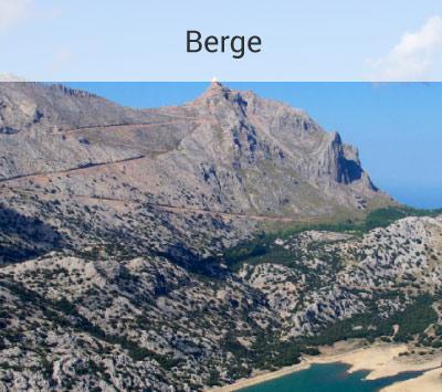 Hohe Berge auf Mallorca