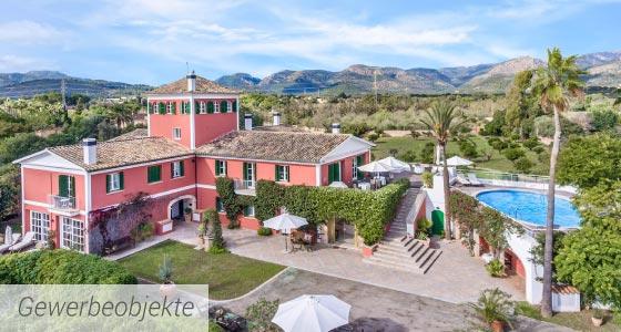 Mallorca Immobilien - Gewerbeobjekte, Hotel, Restaurant