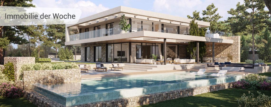 Santa Ponsa - Luxusvilla in traumhafter Wohnlage direkt am Golfplatz