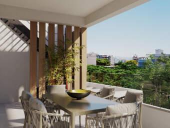 Exklusives Penthaus mit Dachterrasse und Swimmingpool