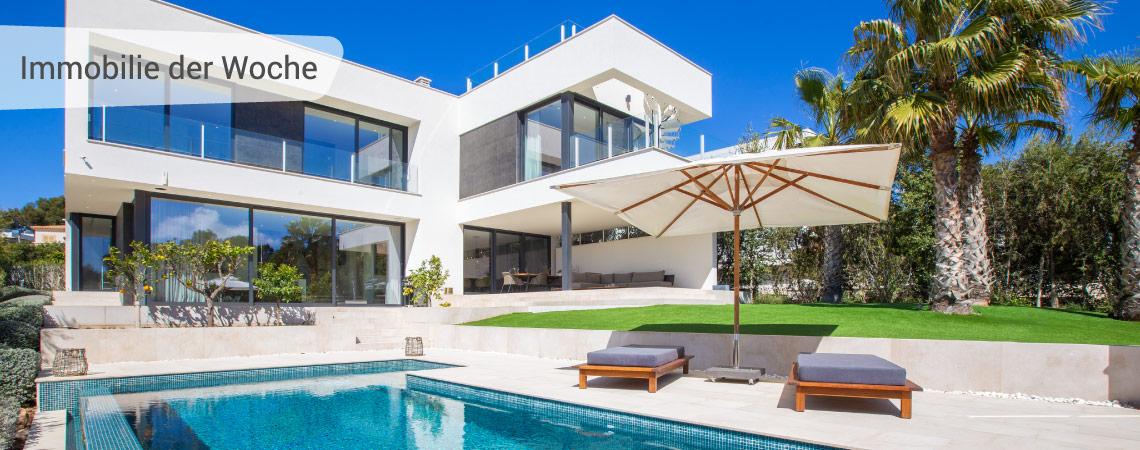 Moderne Villa in bevorzugter Lage in Strand- und Hafennähe