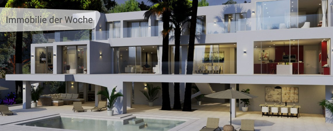 Moderne Villa in Cala Vinyas